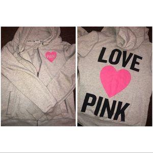 Victoria's Secret PINK Zip-Up Jacket